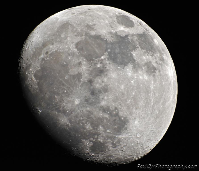 Moon by Paul Cyr Photography